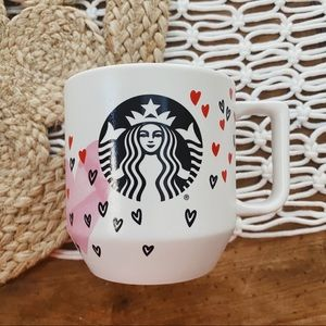 Starbucks | Valentines Day Heart 12oz Mug